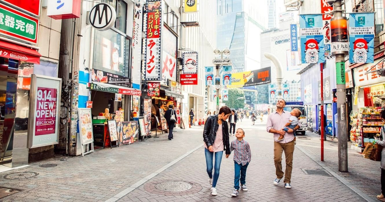 Here's Where Families Can Go To Make The Most Out Of A Trip To Japan