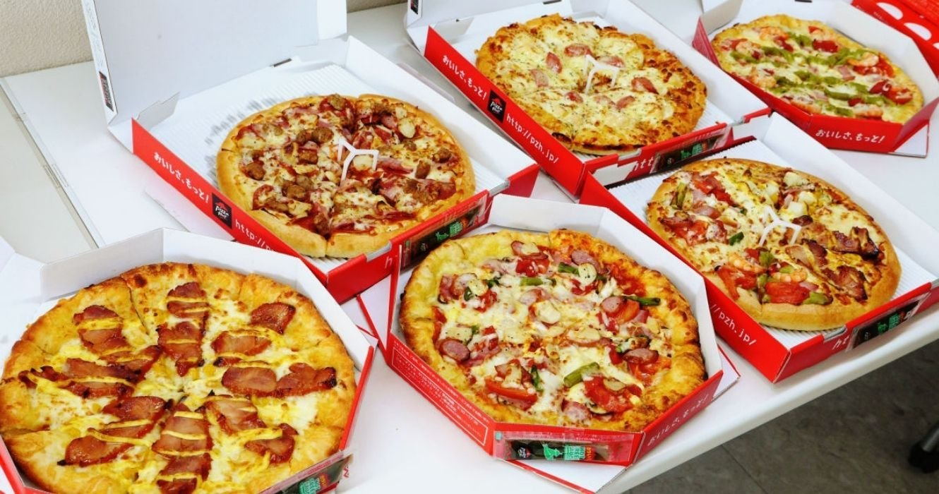These Pizzas Are Only Found At Pizza Hut In Japan, And We're Getting Hungry
