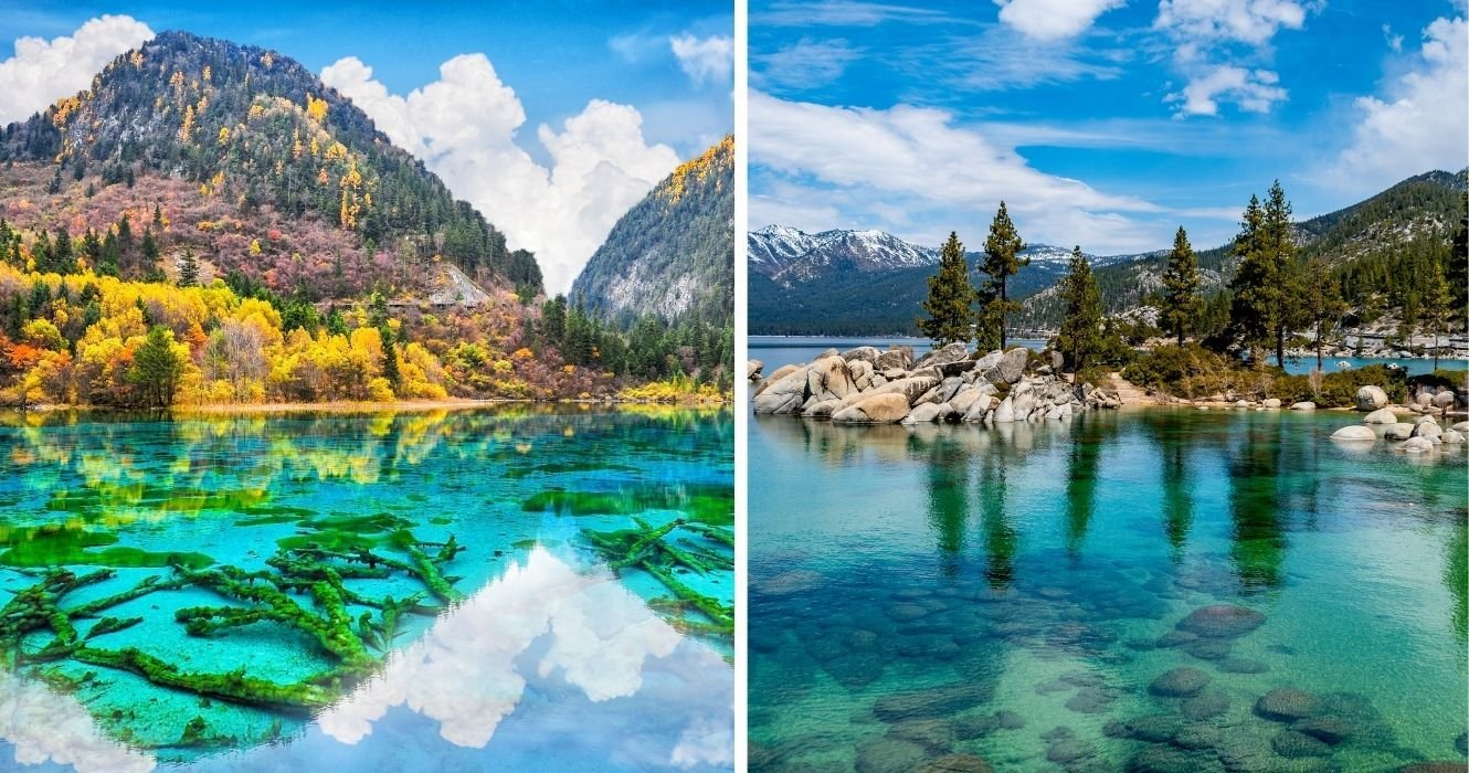 These Are The Clearest Lakes In The World, And They're Photography-Worthy