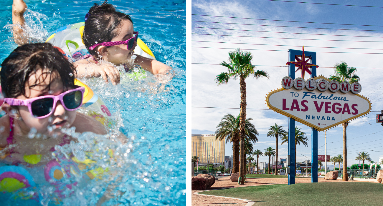 Everything You Should Know About Vegas Splash Pads, And Why It's The Perfect City For The Whole Family To Cool Down In
