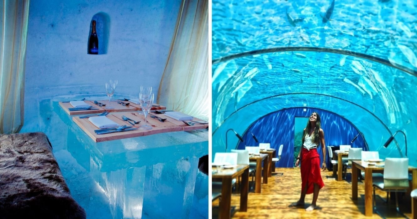 The World's Most Unique Restaurants Are Only For The Truly Adventurous