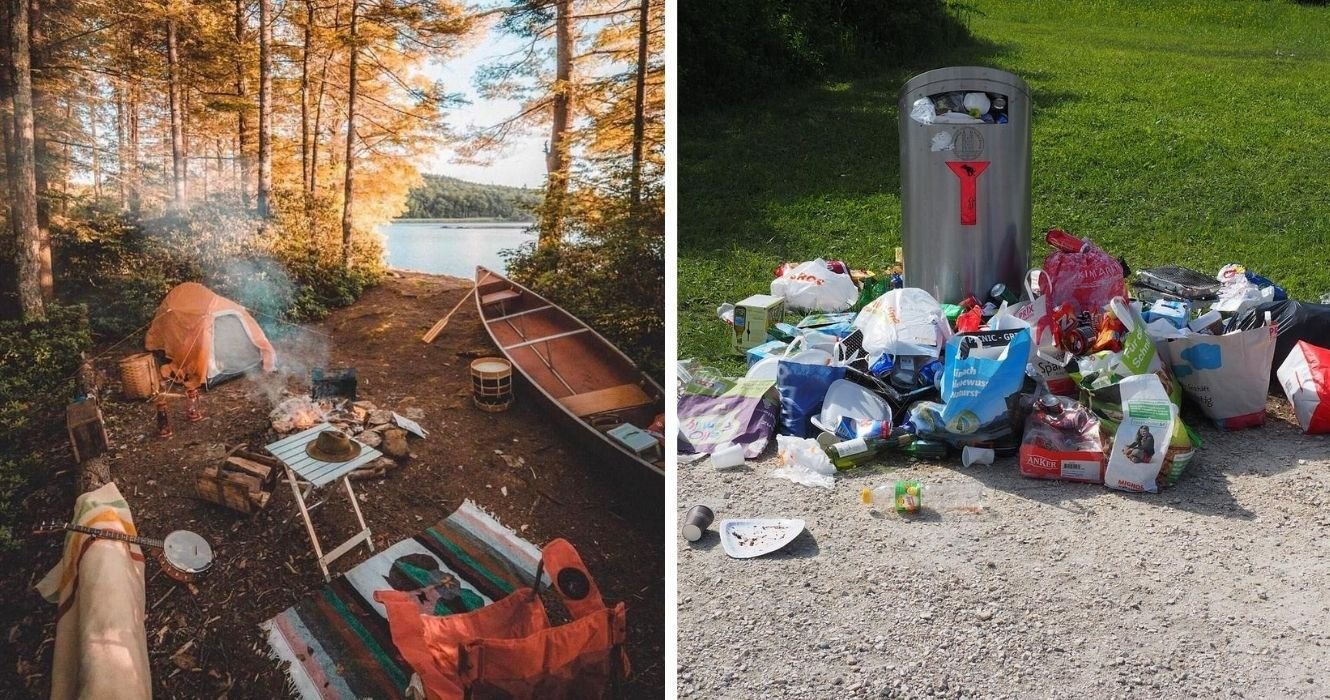 As Camping Gains Popularity, Here Are Some Hacks For A Zero-Waste Trip