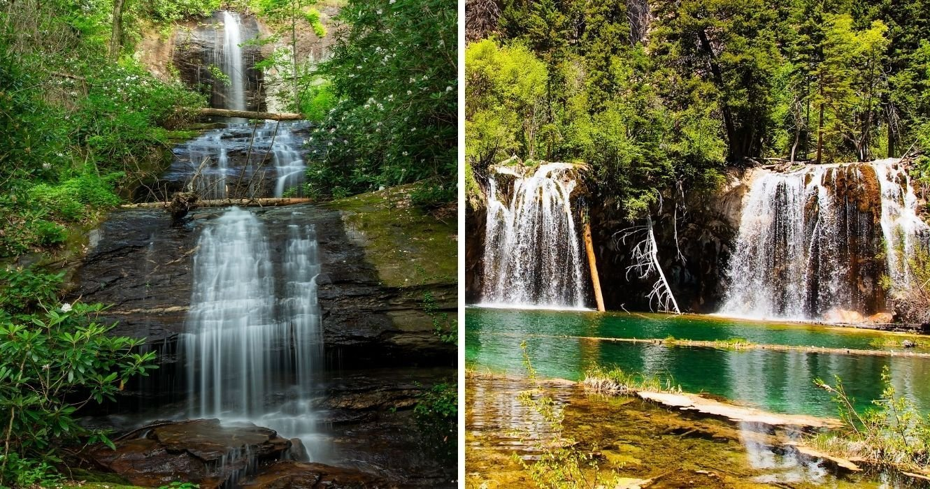 Some Of The Best Waterfalls Are In The U.S., And These Scenic Hikes Will Get You There