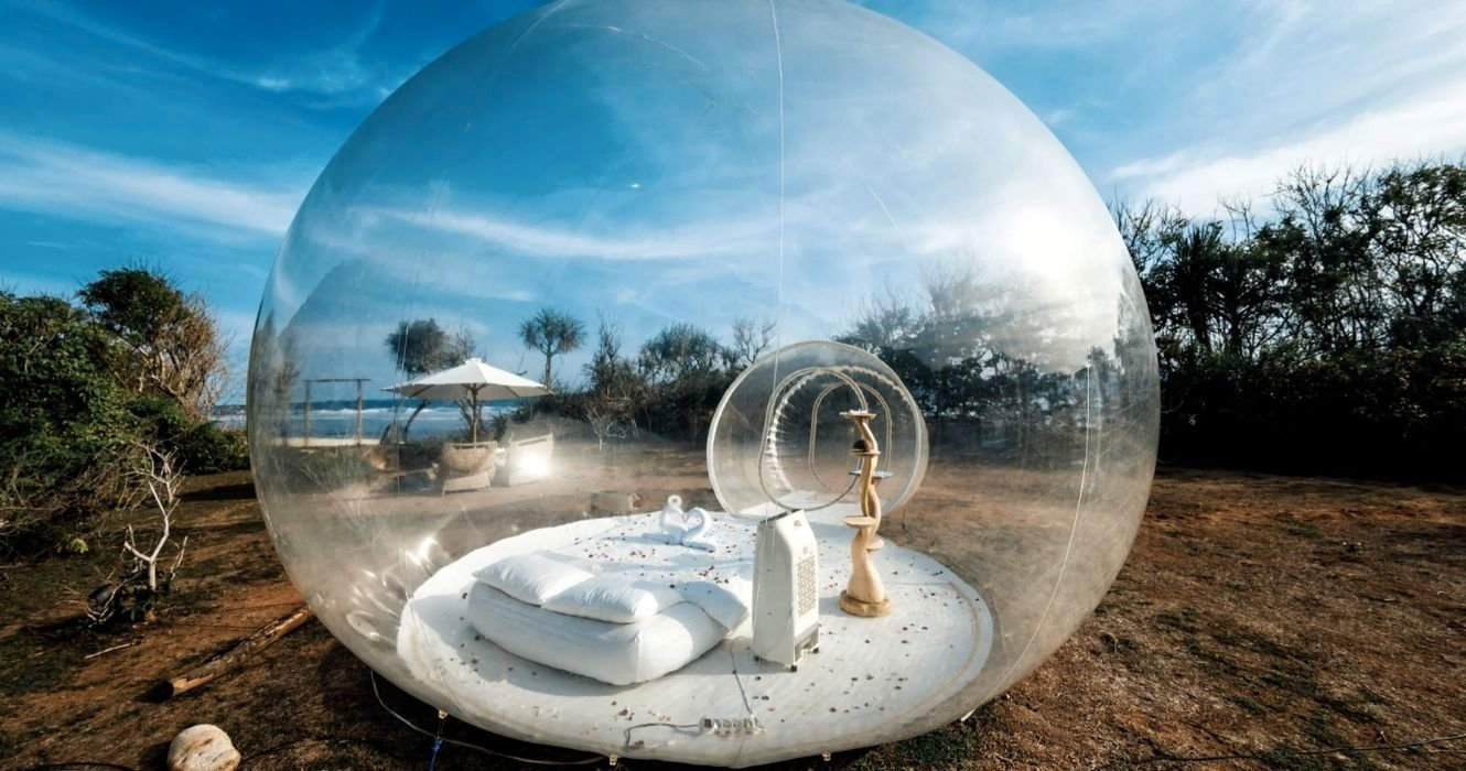 Ditch Traditional Camping And Try Bubble Tent Camping Instead