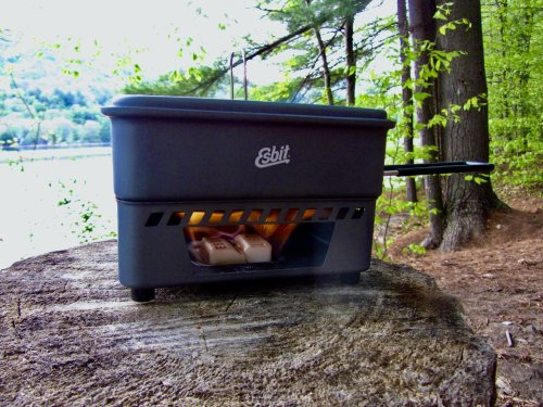 Esbit 1100 Solid Fuel Backpacking Stove Review