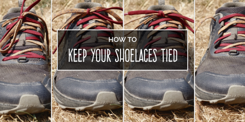 One Simple Trick to Keep Your Shoelaces Tied on Your Next Hike