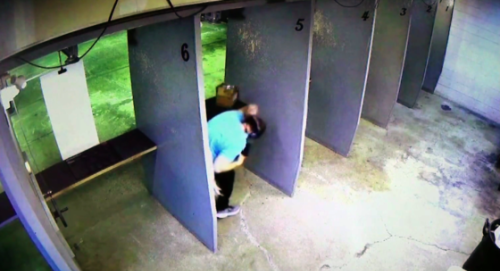 Man Shoots Himself in the Face After Hot Brass Ejected Into His Shirt [VIDEO]