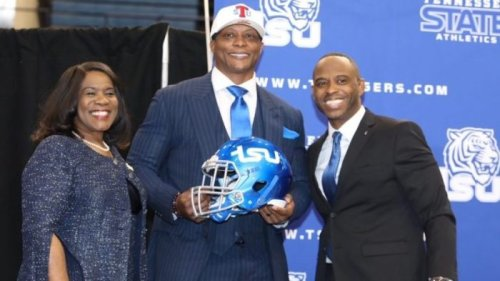 No experience, no problem for new Tennessee State football coach Eddie George
