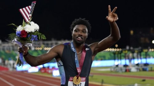 A man of many interests, Olympian Noah Lyles is now only focused on winning the 200-meter dash