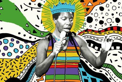 Nina Simone's Montreux Jazz Festival performances collected on 2xLP