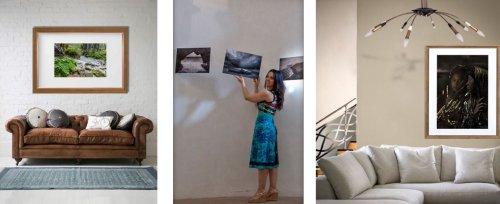 Giusy Tigano, la creativa che porta la fotografia d'autore nei tuoi ambienti