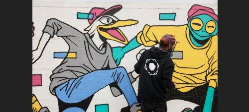 A Montevarchi in Toscana la bellezza della street art grazie a Moaconcept