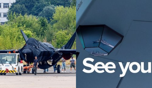 Russia continues teasers of Checkmate stealth fighter, shows 'F-35-like' sensor
