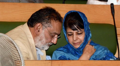 PDP Drops Haseeb Drabu from Cabinet After Political Storm Over the Finance Minister's Kashmir Remark