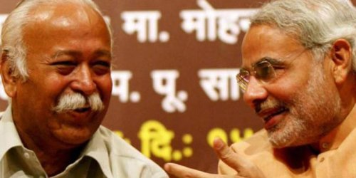 After Seven Years of Modi and Shah, the RSS's Fall from Grace is Total and Complete