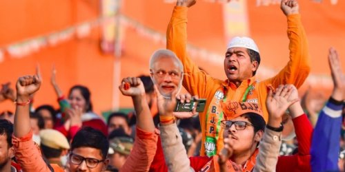 How the BJP's Two-Pronged Strategy Has Managed To Push Its Ideology in a Fragmented Society