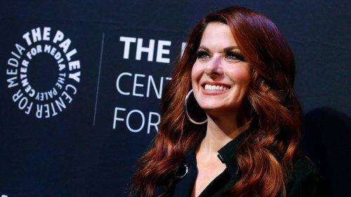 Debra Messing Stumped by Kim Kardashian Hosting 'SNL': 'Am I Missing Something?'