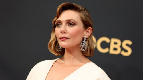 Elizabeth Olsen's Emmys Dress Was Designed by Her Sisters and Fans Are Freaking Out