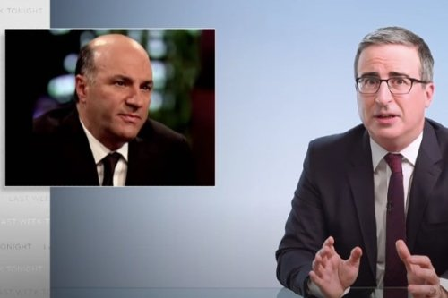 John Oliver Dunks 'Shark Tank' Star Kevin O'Leary for 'Terrible Lesson' on Bankruptcy (Video)