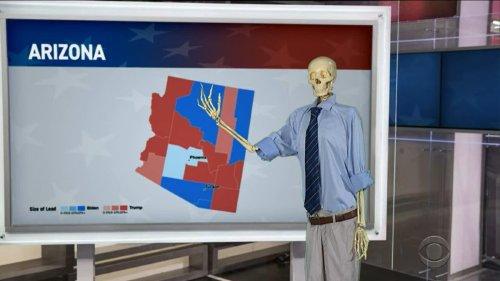 Colbert Accidentally Kills Steve Kornacki Waiting for the Arizona Vote Audit to End (Video)
