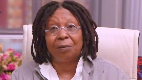'The View' Co-Host Whoopi Goldberg Praises Biden's First Months in Office: 'He's Taking Care of Business' (Video)