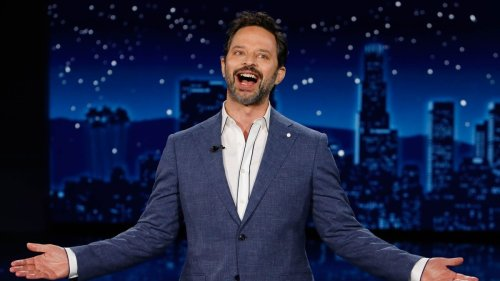 Nick Kroll Adopts Fake Right Wing Persona to Complain about PC Sharks on 'Kimmel' (Video)
