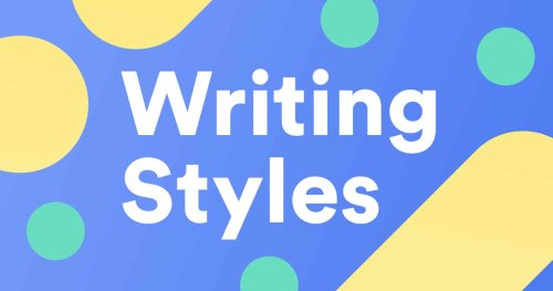 8 Different Types of Writing