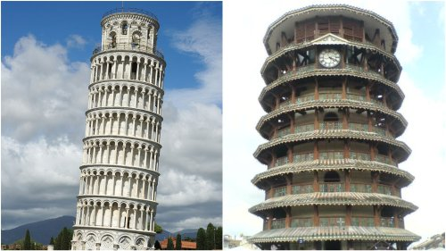 The Leaning Tower in Pisa is not the sole tilted tower—there's one in Malaysia