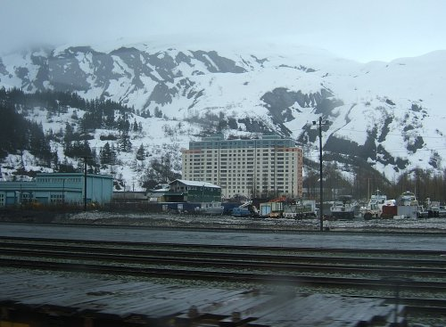 The only town in the world where all residents live in a single building is in Alaska