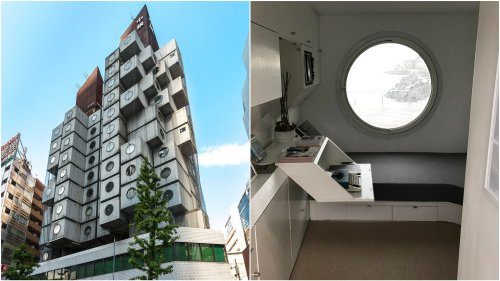 No future for the futuristic: time is up for Tokyo's Nakagin Capsule Tower