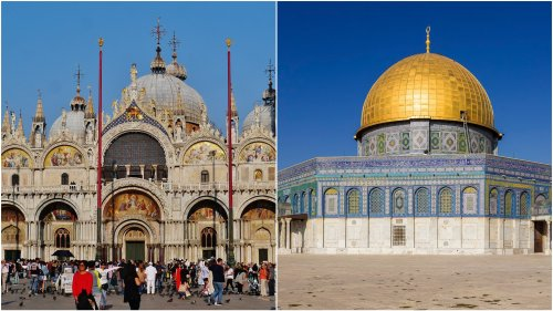 Design of Europe's greatest landmark sites were 'imported' from East