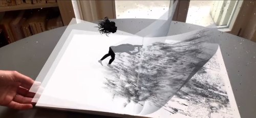 Innovative Augmented Reality Book Merges Dance, Theater, Literature, and Technology | Colossal
