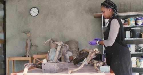 A Visit to Wangechi Mutu's Nairobi Studio Explores Her Profound Ties to Nature and the Feminine