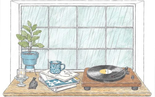 Delicate Gifs by Illustrator Maori Sakai Capture the Serene Moments of Daily Life