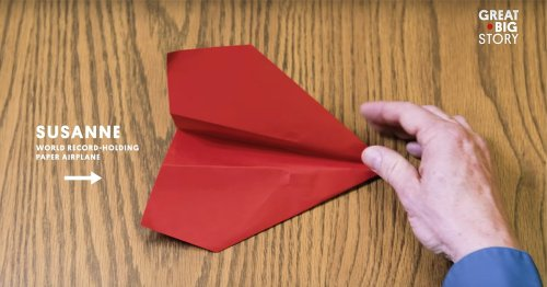 Step-by-Step Instructions on Making the Paper Airplane that Broke World Records