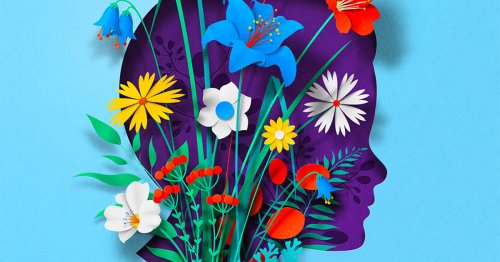 Paper Illustrations and GIFs Explore the Body and Mind in New Work by Eiko Ojala