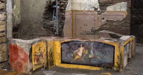 Archaeologists Have Uncovered an Impeccably Preserved Food Stand in Pompeii