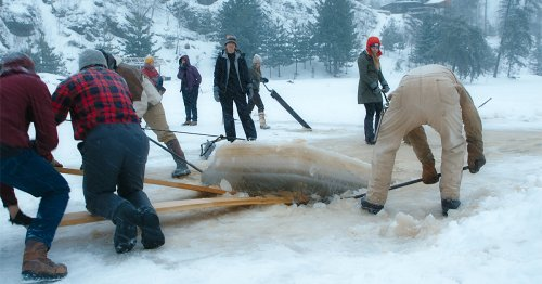 A Heartening Documentary Follows the Community Harvesting Ice in Minnesota's North Woods
