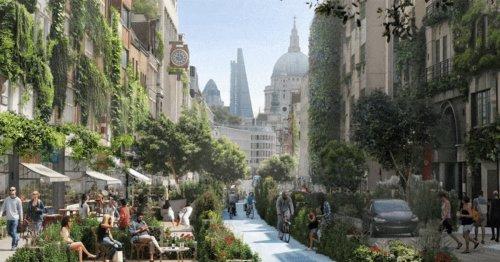 Urban Centers Undergo 'Guerilla Greening' in GIFs that Reimagine Cities with Lush Vegetation