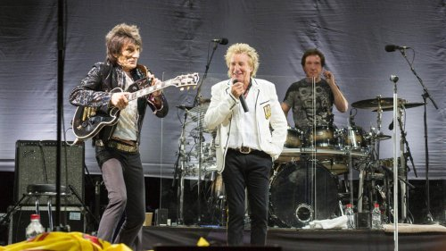 The Faces Are Recording New Music With Rod Stewart