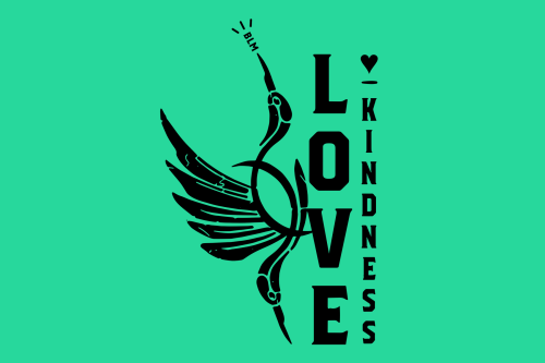 Designed with LOVE: Love, Kindness, and Cranes