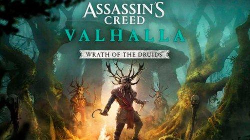 Assassin's Creed Valhalla pone fecha a su expansión 'La Ira de los Druidas'