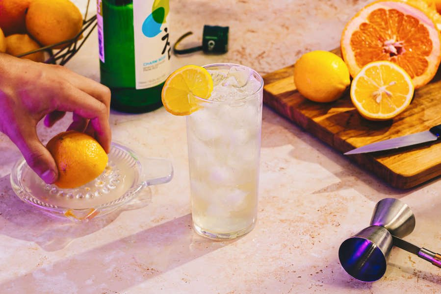Weekend Project: How to Make the Perfect Shochu High Ball