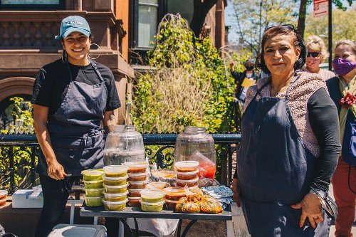Everyone Is Lining Up For This Mother-Daughter-Run Tamale Stand in Fort Greene Park