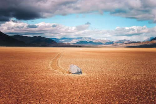 In Death Valley, These Giant Mysterious Rocks Move On Their Own