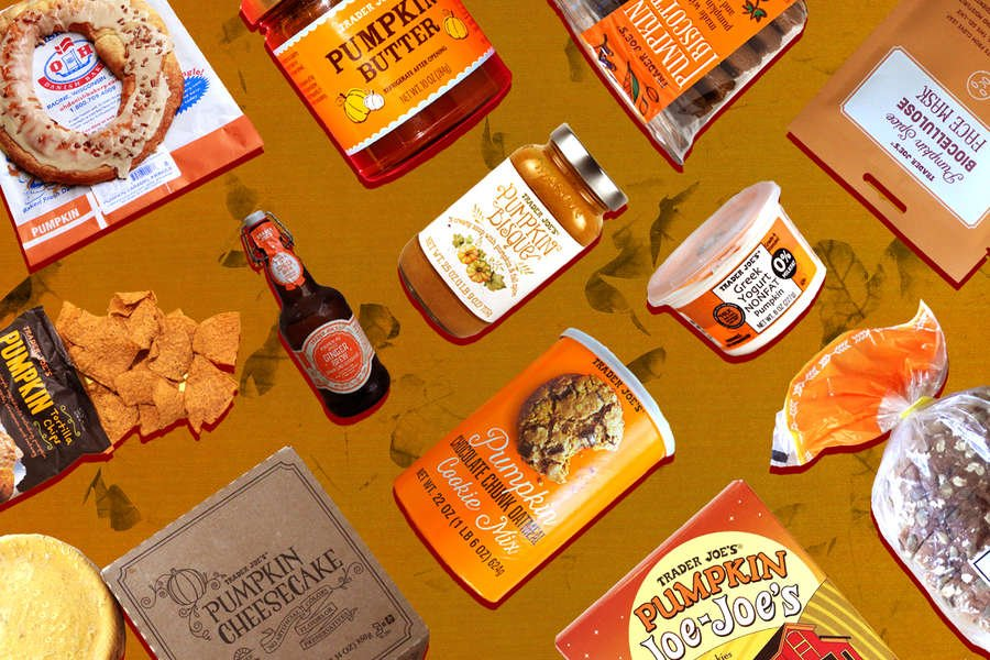 The Trader Joe's Pumpkin Foods You Need to Get This Fall
