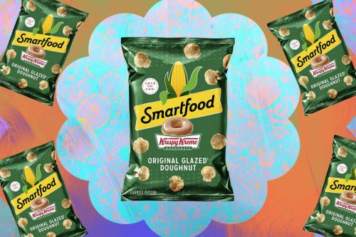Smartfood's New Popcorn Flavor Tastes Like a Krispy Kreme Donut