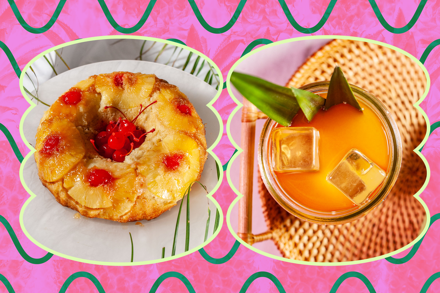 Bake Pineapple Upside Cake and Chase It with This Rum Cocktail