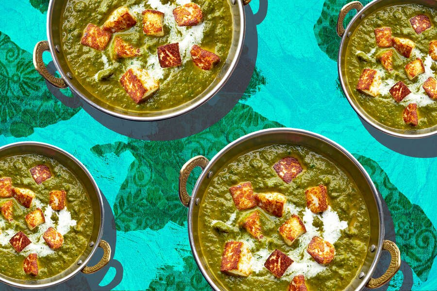 Weekend Project: Make Indian Saag Into a Vegan Dish With a Few Easy Steps