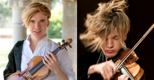 """Violinist Yury Revich: """"Believe in yourself"""""""